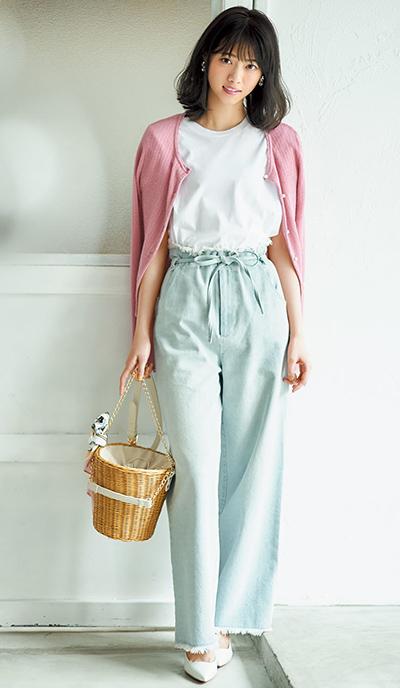 西野七瀬 私服ファッション ブランド 春 2